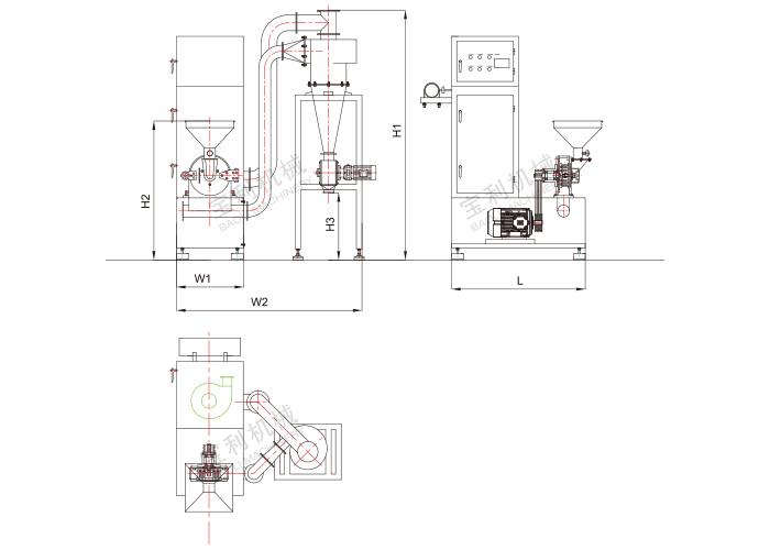 JB系列旋風脈沖吸塵粉碎機組(連體式).jpg
